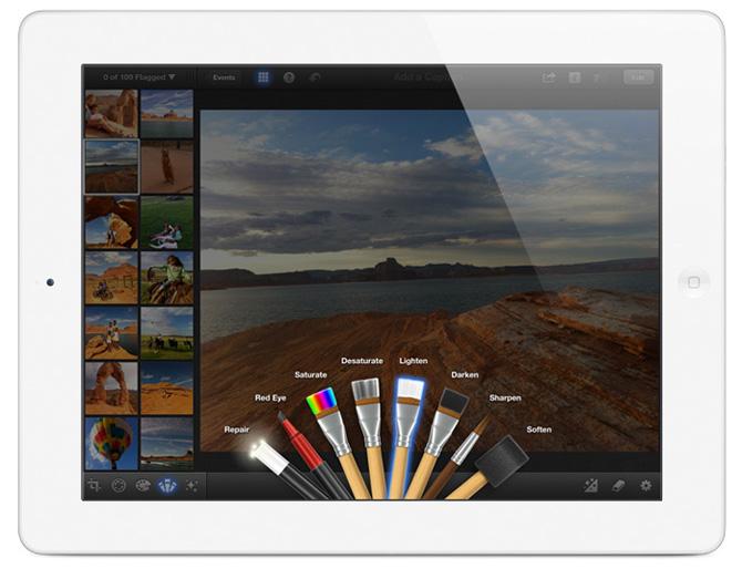 iPhoto para iPad 2