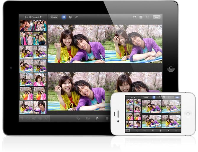 iPhoto para iPad 3