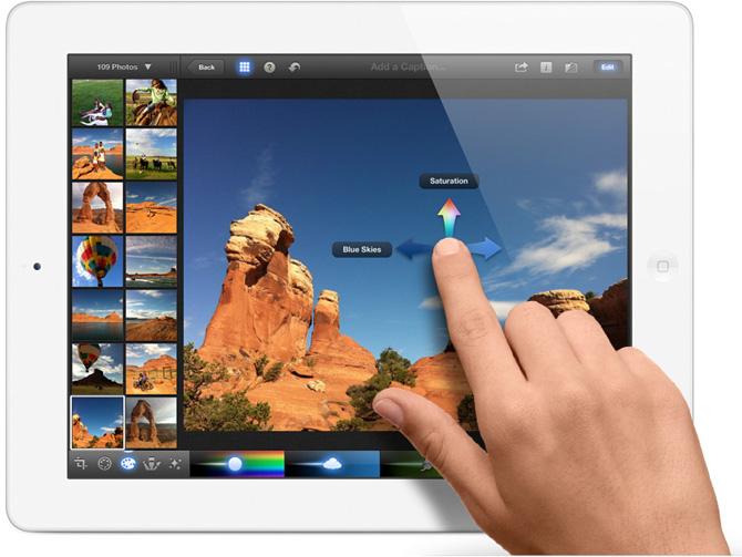 iPhoto para iPad 4