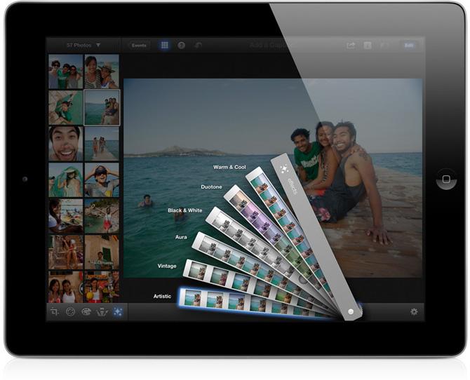 iPhoto para iPad 5