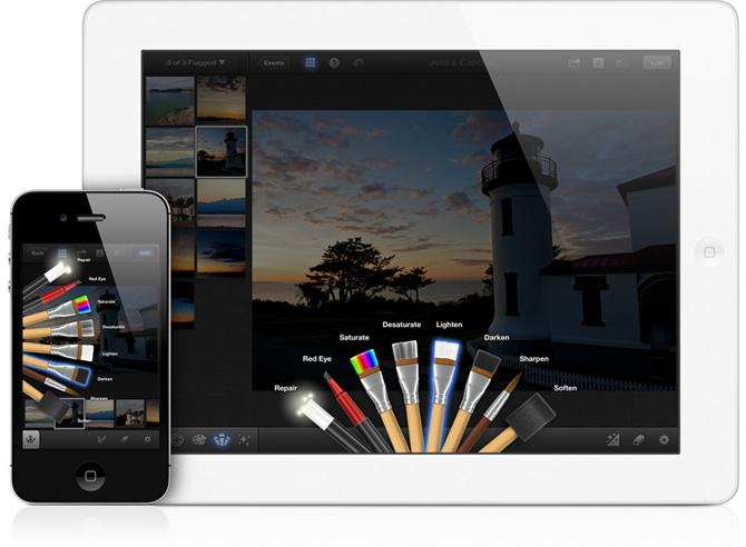 iPhoto para iPad 6