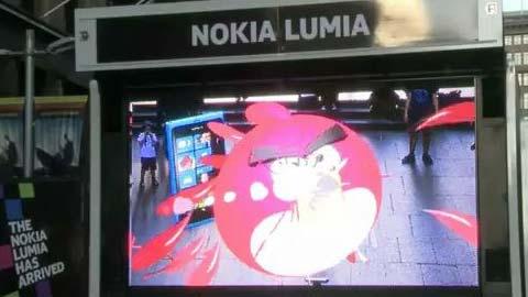 Nokia se burla del problema del nuevo iPhone al sostenerlo con la mano izquierda 5