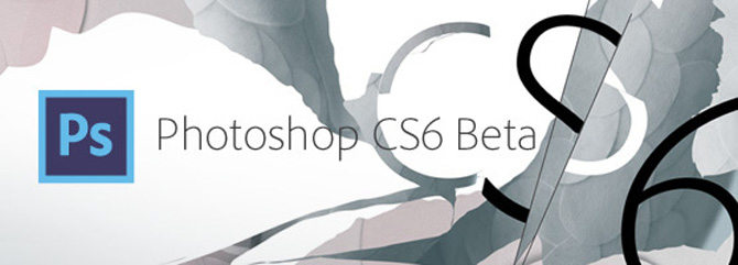 Descarga Photoshop CS6 beta 1