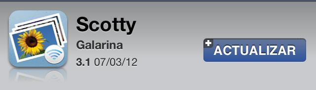 Scotty 3.1 para iOS con nueva interfaz de usario y universal 1