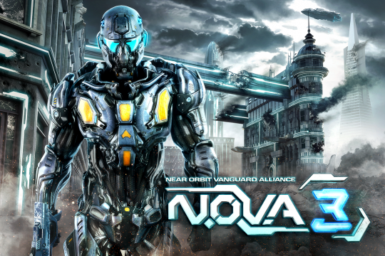 Gameloft presenta el primer Teaser de N.O.V.A 3 1
