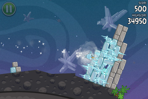 Descarga Angry Birds Space 1.1.0 para iPad e iPhone 1