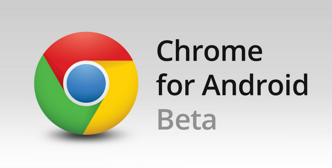 Google Chrome Beta para Android recibe una nueva actualización 1