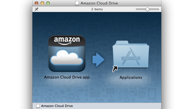 Amazon Cloud Drive para Mac 6