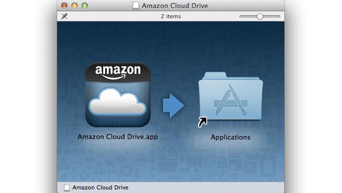 Amazon Cloud Drive para Mac 1