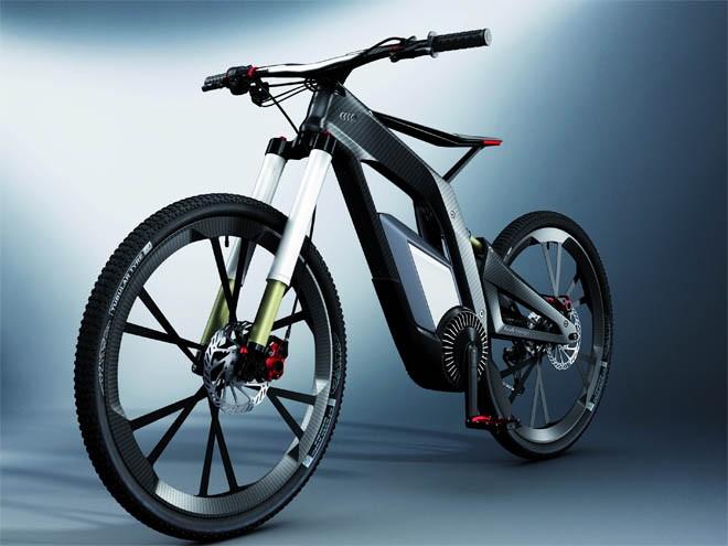 Audi desarrolla bicicleta inteligente 4