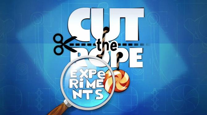 Cut the Rope: Experiments para iOS gratis por tiempo limitado