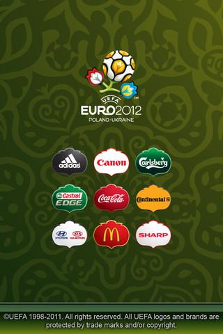 Descarga la aplicación de la UEFA EURO 2012 para iPhone 1
