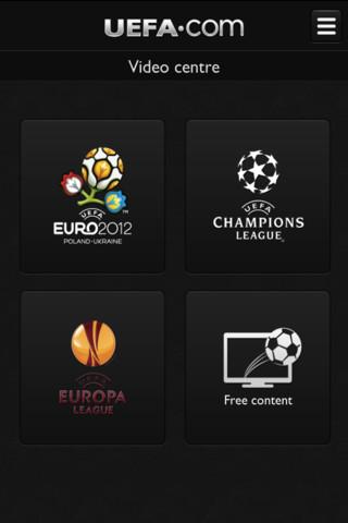 Descarga la aplicación de la UEFA EURO 2012 para iPhone 3