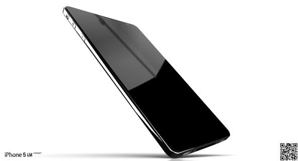 Concepto del próximo iPhone fabricado con Liquidmetal 4