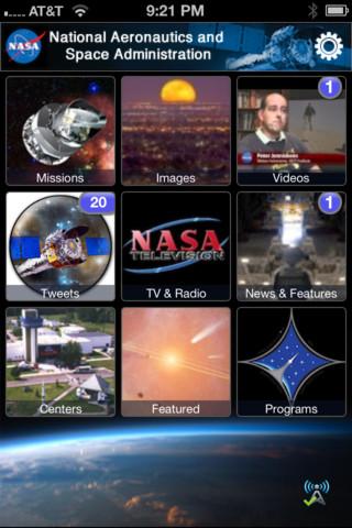 Descargar la aplicación de la NASA para iOS, versión 2.0 2