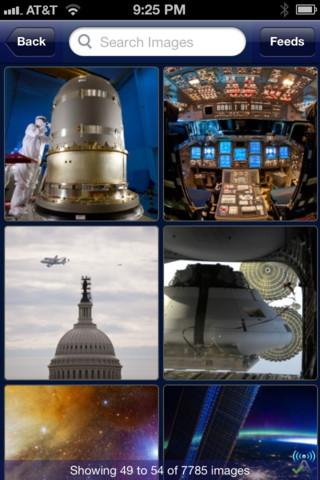 Descargar la aplicación de la NASA para iOS, versión 2.0 1