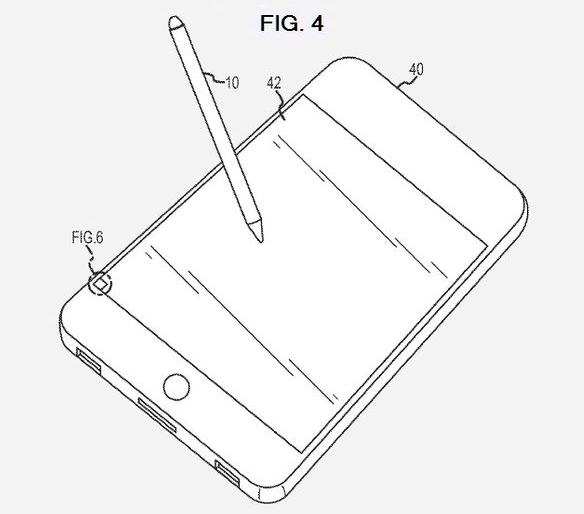 Apple registra la patenta de un stylus óptico 3