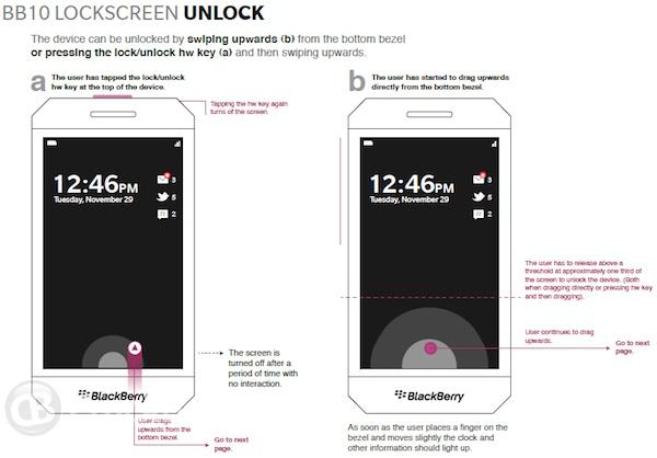 Se filtran imágenes de lo que será BlackBerry 10 1