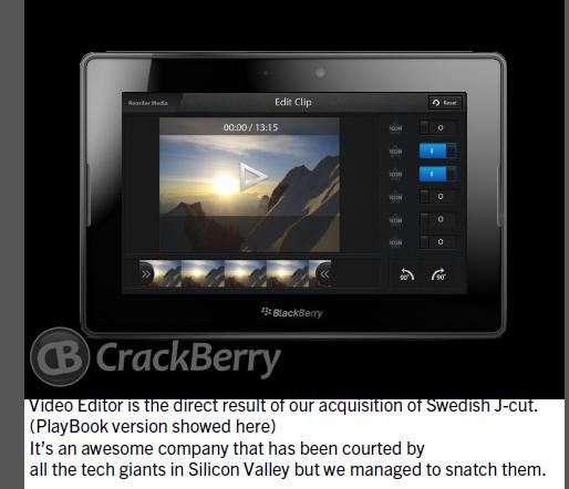 Se filtran imágenes de lo que será BlackBerry 10 4