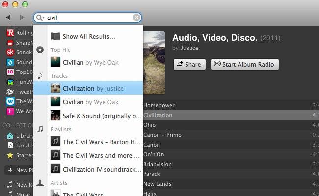 Descarga Spotify para Mac OS, versión 0.8.3 4