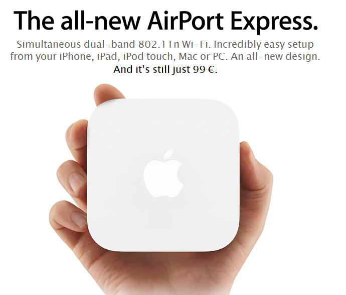 Apple renueva el AirPort Express 1