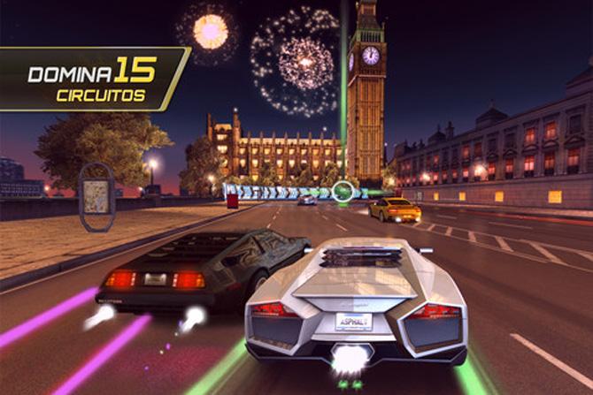 Asphalt 7: Heat de Gameloft para iPhone y iPad 2