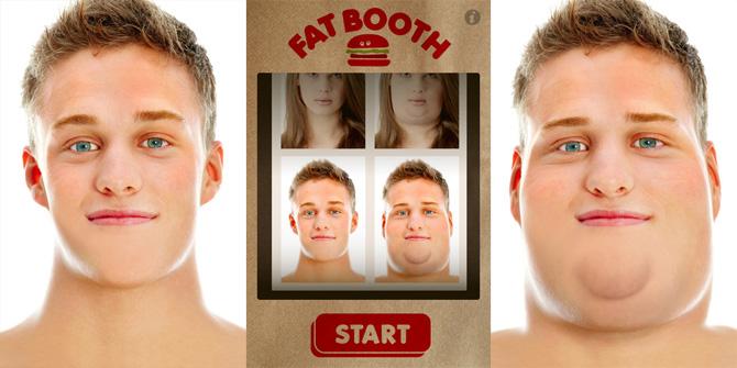 Engorda unos kilos con FatBooth para iPhone 1
