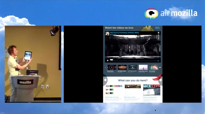 Mozilla presenta Firefox Junior para iPad