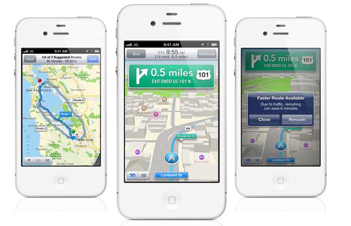 iOS 6 deja por fuera a Google Maps e implementara su propio sistema de mapas 10