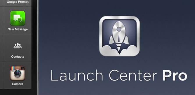 Launch Center Pro para iPhone