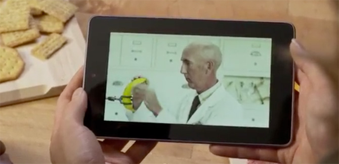Nexus 7 tablet de Google