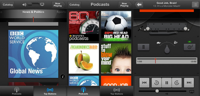 Podcasts, aplicación oficial de Apple para Podcasts en iOS 3