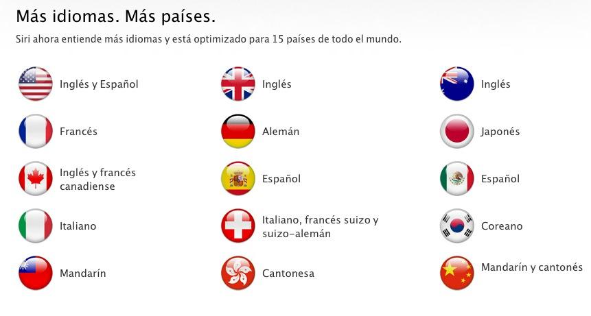 Siri ahora habla español 1
