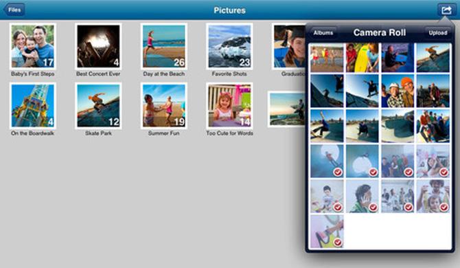 SkyDrive para iOS con soporte para iPad 8