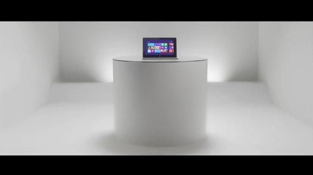 Presentación en video de Microsoft Surface, el iPad de Microsoft