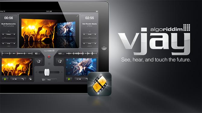 Mezcla vídeos de música en tu iPad con vjay 3