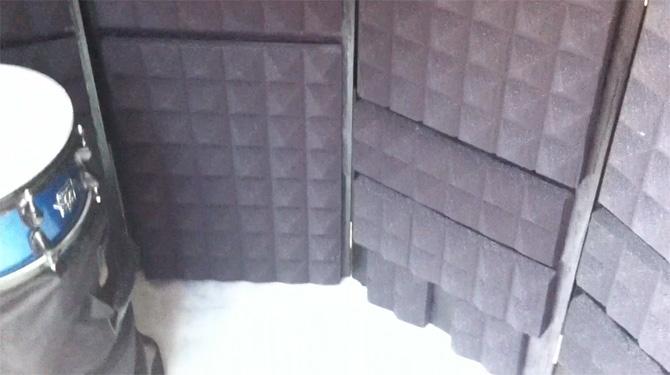 GarageBand y Home Recording - Tips de como construir paneles acústicos