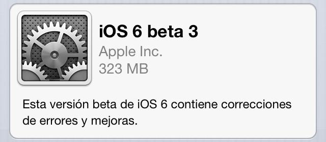Descarga iOS 6 beta 3 4