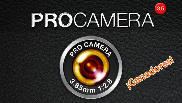 Licencias gratis de ProCamera para iPhone 9