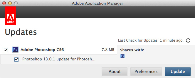 Adobe Photoshop CS MultiProcessor Support update 2