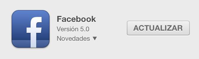 Facebook 5.0 para iPhone el doble de rápido y subida instantánea de fotos 1