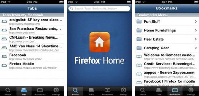Firefox 12 implementaría una nueva pantalla de inicio 5