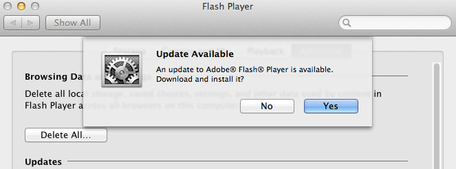Descarga Flash Player 10.1 Release Candidate 7 4