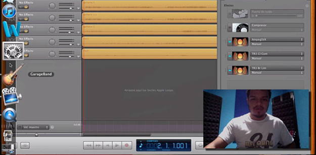 GarageBand y Home Recording Talkback Mic