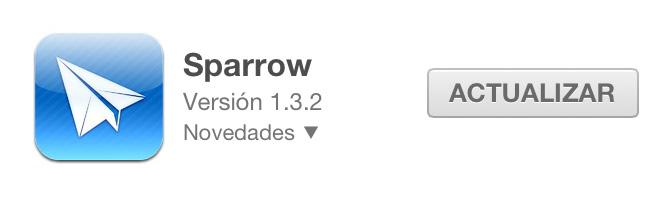 Sparrow: Nuevo cliente de correo para Mac. 1