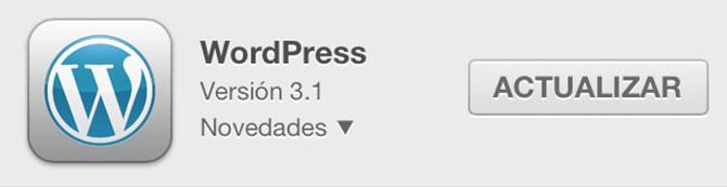WordPress para iOS se actualiza a la versión 2.7 1