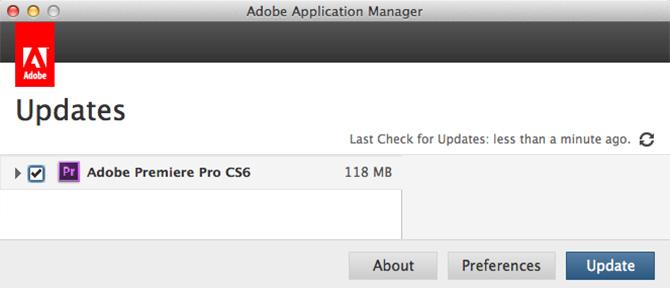 Adobe Premiere Pro CS6 6.0.2 con soporte para Retina Display y GT 650M 1
