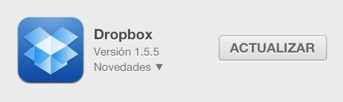 AirDropper, trabaja con Dropbox 11