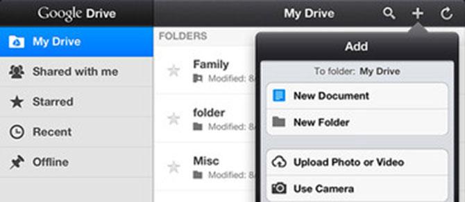 Google Drive para iPhone y iPad disponible para descargar 4