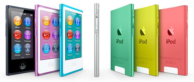 Apple presenta en su evento especial el nuevo iPod nano 3